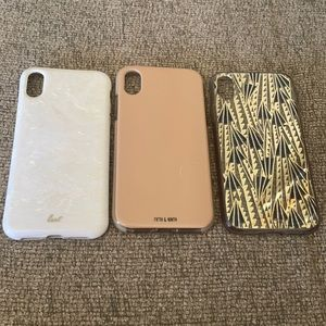 Bundle of (3) iPhone XR cases